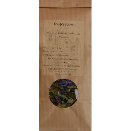 Digestion Infusion 30g Tisane Naturel de Menthe Mélisse et Mauve