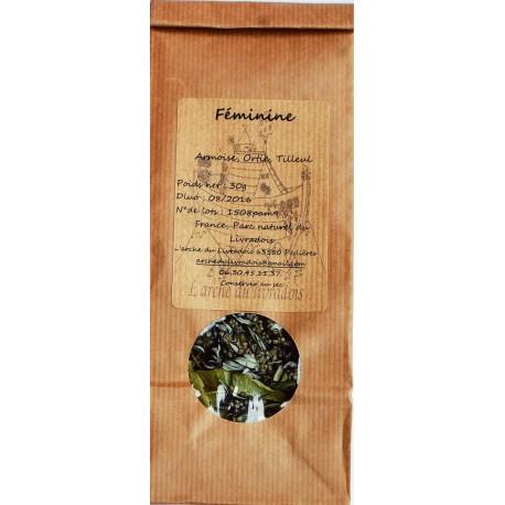 Féminine 30g Infusion Naturel, Tisane mélange