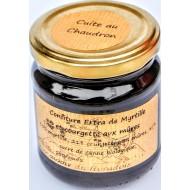 Confiture Extra de Myrtille, Courgette aux Mures 230g